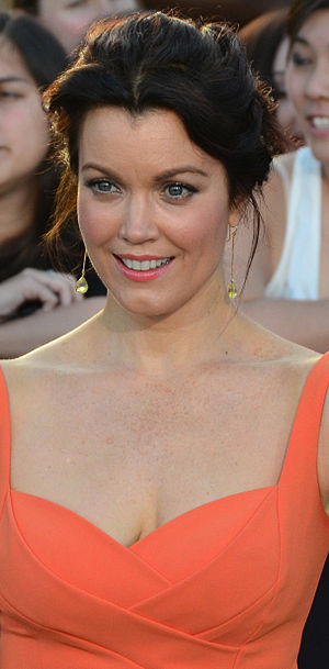 Bellamy Young - Young at the premiere of Divergent in 2014