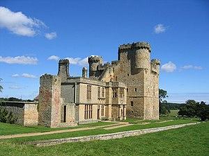 Middleton baronets - Belsay Castle, the former seat of the Middleton baronets of Belsay Castle