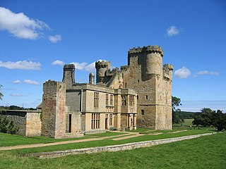 Belsay Castle Grade I listed historic house museum in the United Kingdom