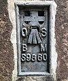Benchmark Flush Bracket at Coalbrookdale Inn.jpg