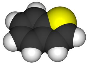 Benzothiophene - Image: Benzothiophene 3d