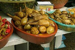 Manchego cuisine - The berenjenas de Almagro