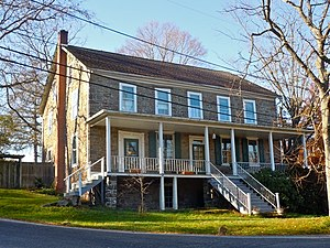 Upper Salford Township, Montgomery County, Pennsylvania - House by Bergy Bridge