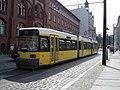 Berlin GT6N No1072 tram, September 2005.jpg