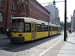 Berlin GT6N No1072 tram, September 2005.jpg