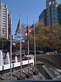 Bethesda MD center Metro fountain and cascades.jpg