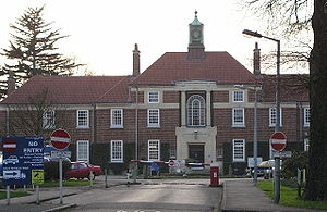 Bethlem Royal Hospital, near Shirley, taken 7 ...