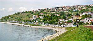 Beylikdüzü - Image: Beylikdüzü Sahili Panoraması, Mayıs 2014