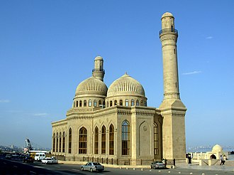 Religion in Azerbaijan - The Bibi-Heybat Mosque in Baku, Azerbaijan