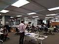 Bibliotecario de la Biblioteca Daniel Cosío Villegas dando la bienvenida a los participantes.jpg