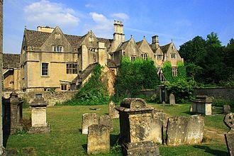 Bibury - Bibury Court, built in 1633.