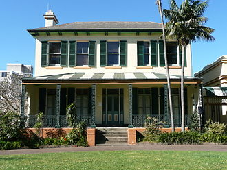 "Edmund Blacket - ""Bidura"", Blacket's home in Glebe"