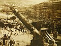 Big Italian gun ready for firing, May 12, 1917 (28761378906).jpg