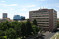 Billings, Montana. The Yellowstone County Courthouse and the Courthouse Park.JPG
