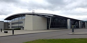 Billund Airport - Image: Billund Airport from NE