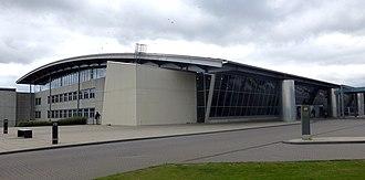 Billund Airport - Image: Billund Airport from NE