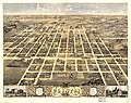 Bird's eye view of the city of Clinton, DeWitt County, Illinois 1869. LOC 73693351.jpg