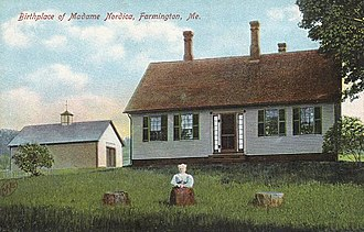Lillian Nordica - Nordica's birthplace c. 1908
