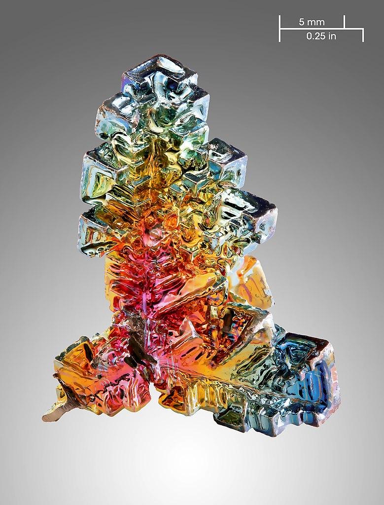 file bismuth crystal wikimedia commons. Black Bedroom Furniture Sets. Home Design Ideas