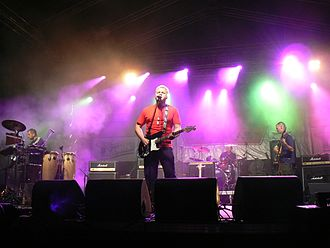 Bix (rock group) - Image: Bix performing at Rock Nigts 2006 festival in Plateliai, Lithuania
