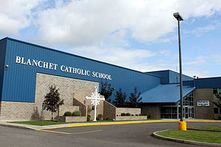 Blanchet Catholic School Private, coeducational school in Salem, Marion County, Oregon, United States