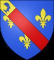 Blason comte fr Montpensier (Bourbon).png