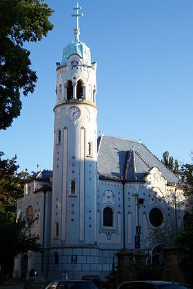 Image illustrative de l'article Église Sainte-Élisabeth de Bratislava