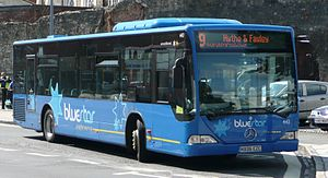 Go South Coast - Bluestar Mercedes-Benz Citaro in Southampton in August 2008