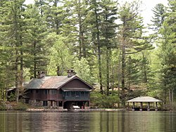 Boat House at Northbrook Lodge on Ogood Pond.jpg