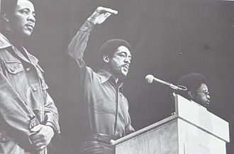 Bobby Seale - Bobby Seale at John Sinclair Freedom Rally on December 10, 1971 at Crisler Arena in Ann Arbor, Michigan