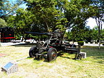 Bofors 40mm Gun Display at Chengkungling 20121006b.jpg