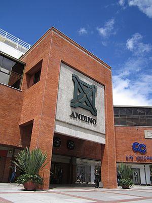 Centro Andino - Main gate