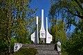 Boholiuby Lutskyi Volynska-monument to the countrymans-general view-2.jpg