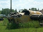 Bolingbroke in a Manitoba junk yard, 2006