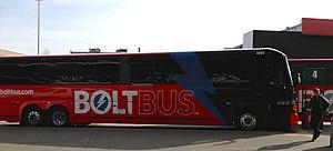 BoltBus - Image: Bolt Bus D4505