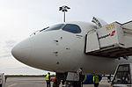 Bombardier CS100 at Brussels Airport (25547499181).jpg
