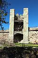 Bosa, castello malaspina, torre pentagonale aragonese 02.JPG