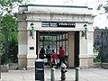 Botanic Garden Station street stair jeh.JPG