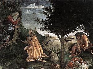 English: Botticelli, Scenes from the Life of M...