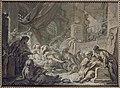 Boucher - Mort de Socrate (esquisse en grisaille), MNR132.jpg