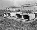 Bouw Caisson voor Coentunnel in Amsterdam-Noord Overzicht IJ-caisson, Bestanddeelnr 915-0231.jpg
