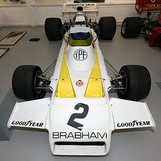 Brabham BT37 - Image: Brabham BT37 front Donington Grand Prix Collection
