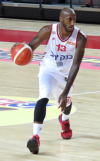 Bracey Wright - Wright with Hapoel Jerusalem in September 2015
