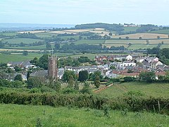 Bradninch from Castle Hill - geograph.org.uk - 472656.jpg