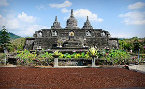 1976 Bali earthquake - The Braham Arama Vihara Buddhist monastery was heavily damaged and later repaired.