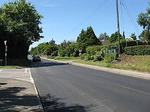 Bransford - Image: Bransford Powick junction geograph.org.uk 837280