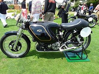 "AJS Porcupine - 1954 AJS E95 ""Porcupine"" racing motorcycle"