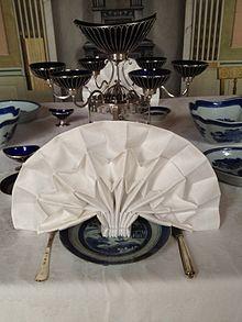 Napkin Folding Wikipedia