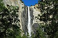 Bridalveil Falls (Yosemite Valley, Sierra Nevada Mountains, California, USA) 4 (19414011034).jpg