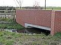 Bridge in Portleys Lane, Drayton Basset - geograph.org.uk - 1094543.jpg